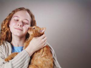 sfregamento gatti