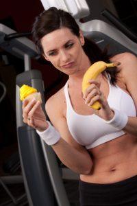 banane esercizio fisico