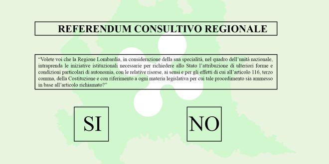 referendum per l'autonomia