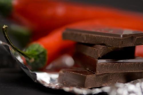 peperoncino cioccolato fondente