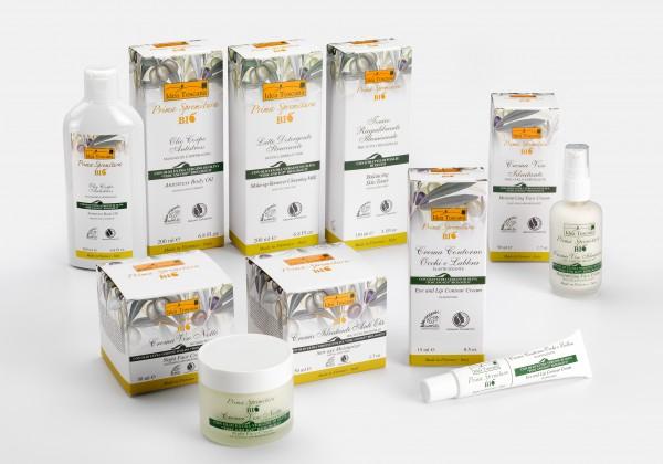 cosmetici all'olio di oliva