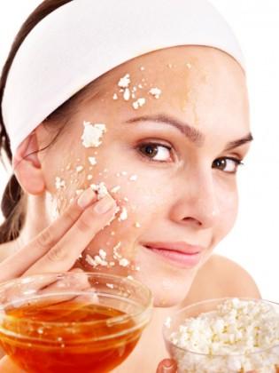 scrub fai da te viso  corpo