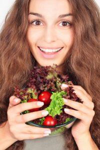 alimentazione capelli sani