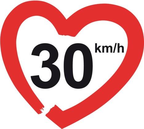 limite velocità 30 km/h