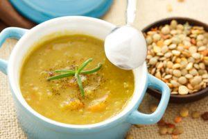 zuppa di lenticchie dieta dash