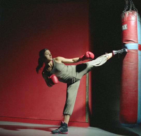 esercizi buonumore kick boxing