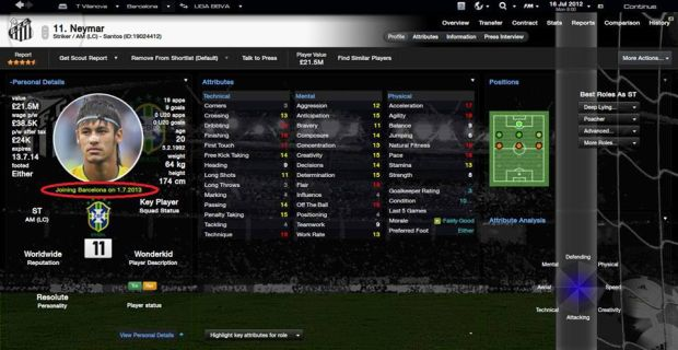 annuncio ufficiale football manager 2014