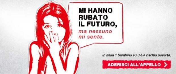 povertà bambini italia