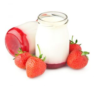 yogurt alla fragola fatto in casa