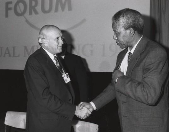 de Klerk e Mandela