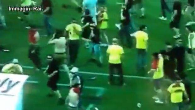 tifosi lecce scontri