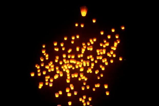 lanterne cinesi incendi