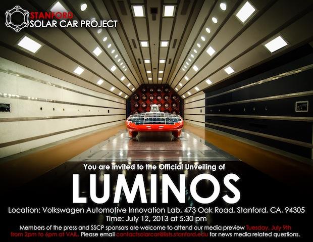 auto solare luminos