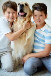 cani e bambini benefici