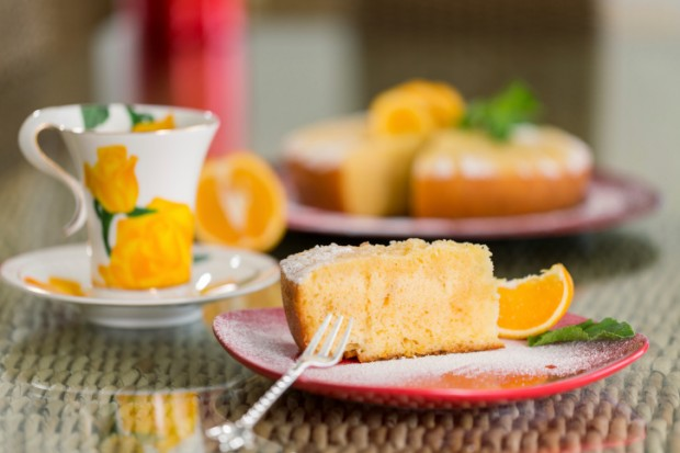torta arancia e mandorle ricetta