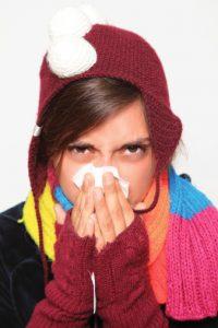 esercizio fisico e raffreddore