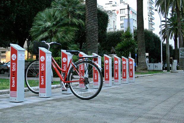 bike sharing bari