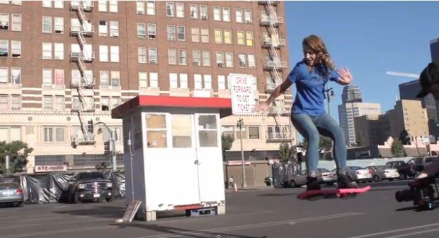 skateboard volante