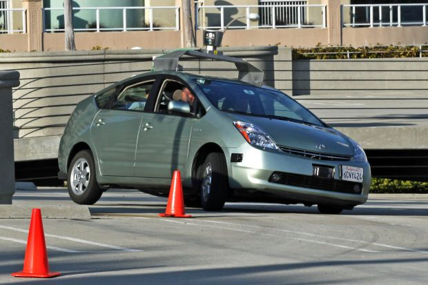 auto senza pilota google car