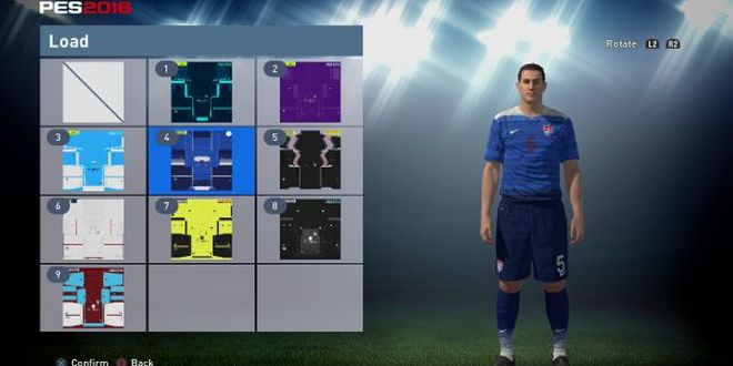 pes 2016 importare maglie