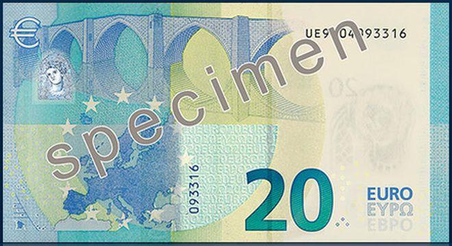 20 euro nuovi dorso