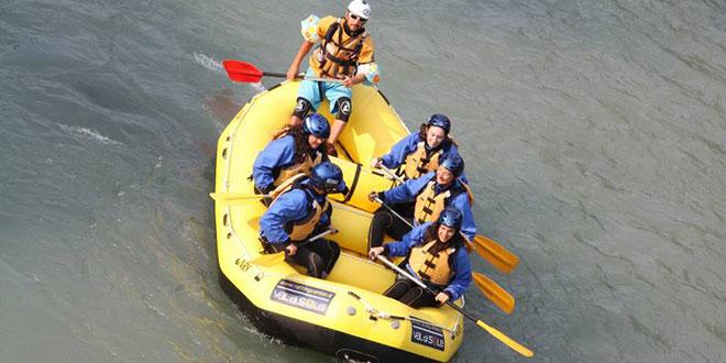 addio al nubilato rafting Trentino