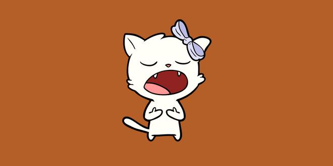 gatto anziano miagola