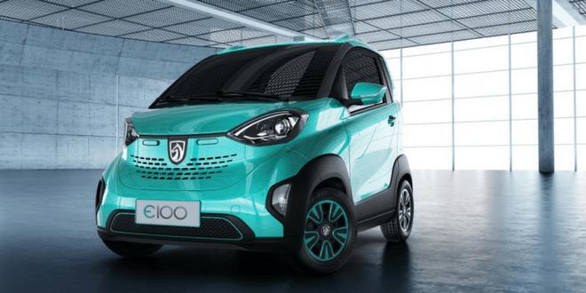 auto elettrica Baojun E100