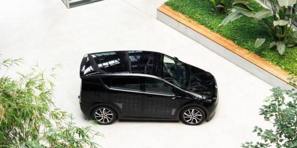 auto elettrica solare Sion