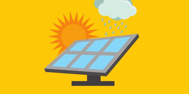 celle solari ibride energia pioggia
