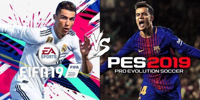FIFA 19 e PES 2019