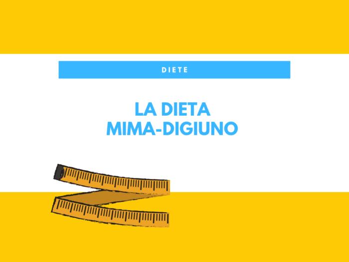 dieta mima-digiuno giorno per giorno