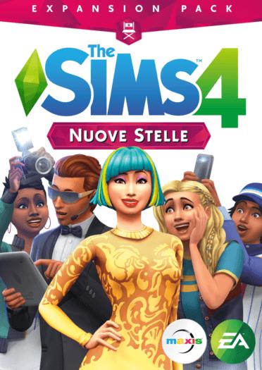 The Sims 4 nuove stelle foto copertina del gioco