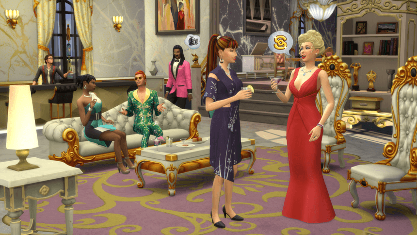 the sims 4 nuove stelle carriera vip screenshot