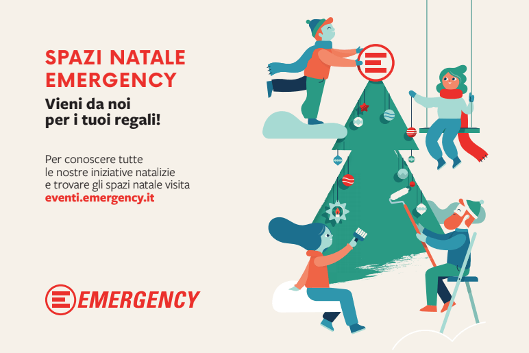 regali di Natale solidali 2018 Emergency