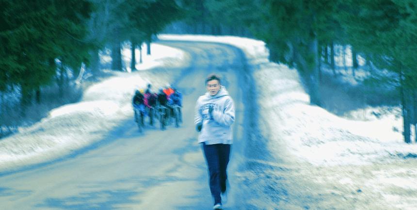 allenarsi quando fa freddo