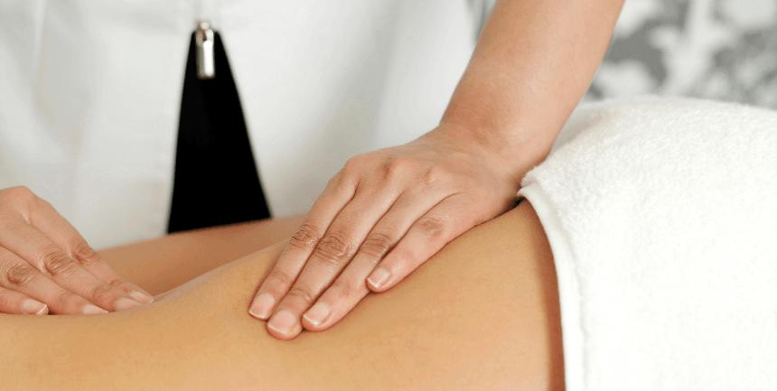massaggi anticellulite sulle gambe