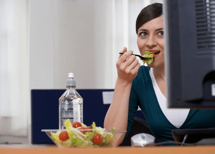 dieta in ufficio