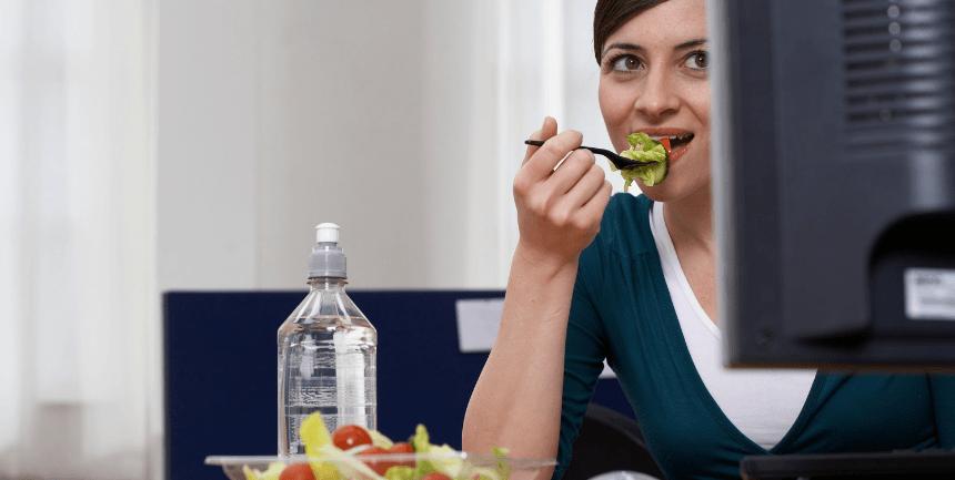 dimagrire in ufficio dieta esercizi