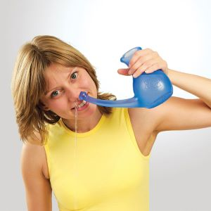 neti pot naso che cola